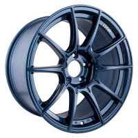 SSR GTX01 Wheel - 18x9.5 +22 5x114.3 Blue Gunmetal