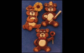 3 LITTLE BEARS INTARSIA PATTERN