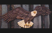 EAGLE TWO INTARSIA PATTERN