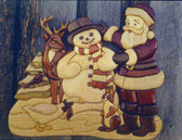 CHRISTMAS FRIENDS INTARSIA PATTERN