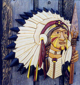 CHIEF INTARSIA PATTERN