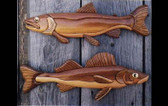 WALLEYE & TROUT INTARSIA PATTERN