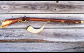 KENTUCKY LONG RIFLE INTARSIA PATTERN