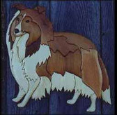 COLLIE INTARSIA PATTERN