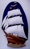 TALL SHIP INTARSIA PATTERN