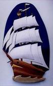 TALL SHIP INTARSIA PATTERN