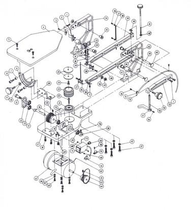 all 14 scroll saw parts ps wood machines rh pswood com scroll saw parts list scroll saw diagram