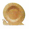 """10"""" SNAIL PLYWOOD PLATE"""
