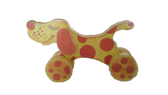 SPOTTED DOG WITH PULL TOY PATTERN