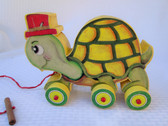 TURTLE PULL TOY PATTERN