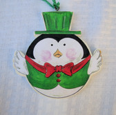 SNOWMAN & PENGUIN ORNAMENTS PATTERN