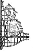 VICTORIAN CORNER SHELF (c. 1800) PATTERN