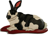 RABBIT INTARSIA PATTERN