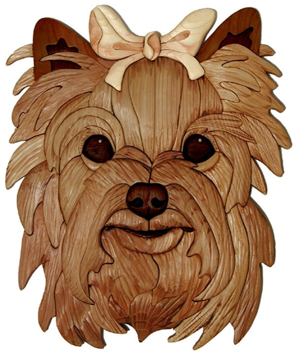 Yorkie Head Intarsia Pattern Ps Wood Machines