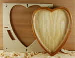 HEART Bowl & Tray Template