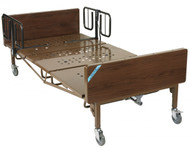Full Electric Bariatric Hospital Bed with Mattress and T Rails - 15300bv-pkg