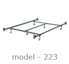 #223 adjustable bed rail