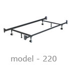 #220 adjustable bed rail