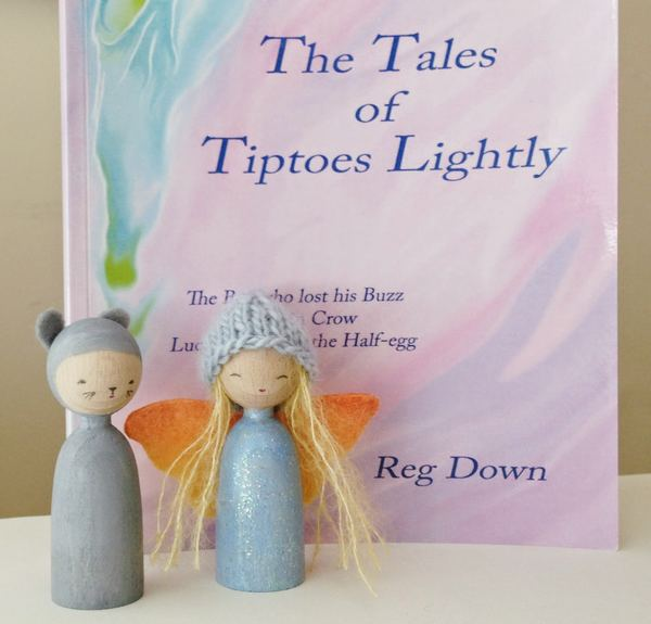 Tiptoes Lightly Finger Puppets