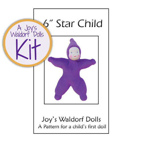 "6"" Velour Star Child Kit"