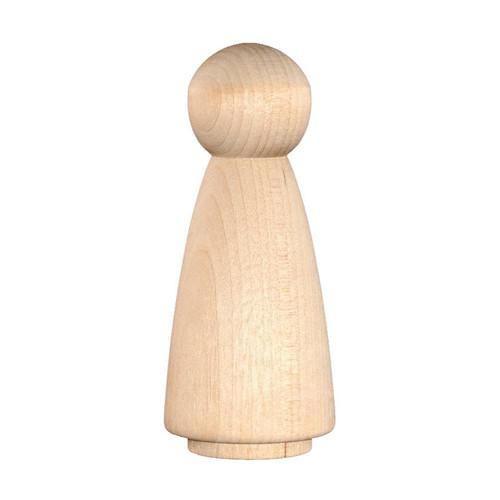 Wood Peg Doll - Angel/Fairy