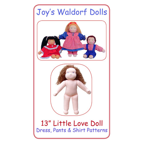 "13"" Little Love Doll Pattern"