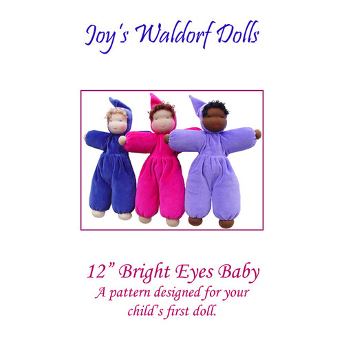 "12"" Bright Eyes Baby Pattern"