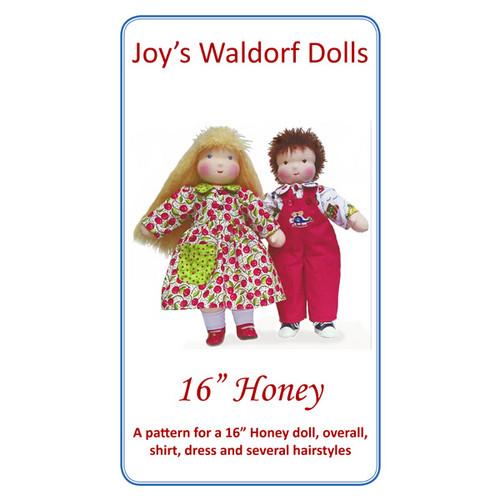 "16"" Honey Doll Pattern"