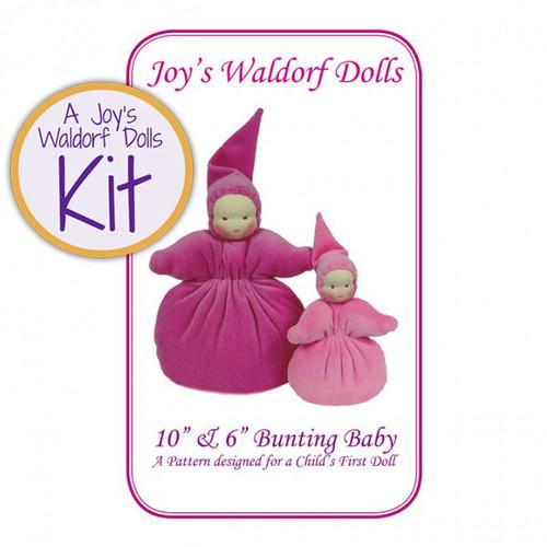 "10"" & 6"" Bunting Baby Doll Making Kit"