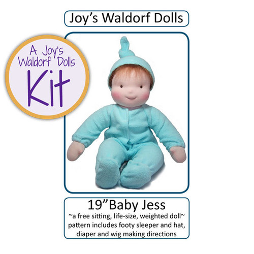 "19"" Baby Jess Doll Making Kit"
