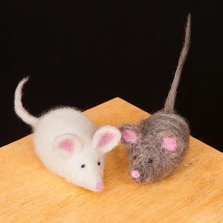 Woolpets Mice Kit - Easy
