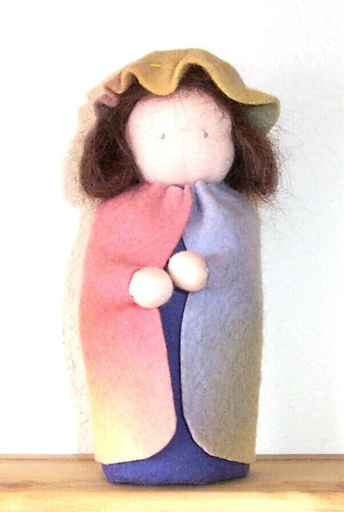 Wool Felt Waldorf Table Puppet Pattern