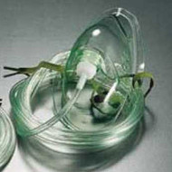 GaleMed Mask Oxygen (Adult) with 2m Tubing (Pack of ten)