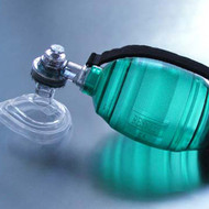 Rescuer BVM Resuscitator Child Disposable with Handle & No 3 Mask
