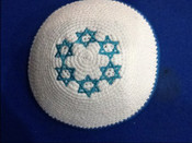 Knitted pin 203- Be a Star....A Jewish Star!