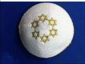Knitted pin 206- Be a Star....A Jewish Star!