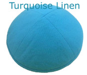 Turquoise Linen