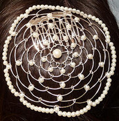 White Color Single Bead