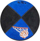 Embroidered Basketball with Hoop