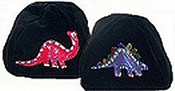 Two Dinosaurs on One Kippah