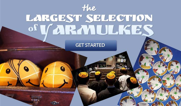 The Largest Selection of Yamulkes