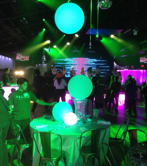 Astera LED PE Spheres 4 sizes available 25cm 40cm 50cm and 60cm with closure & Waterproof Floating or Hanging Sphere in 4 sizes - Astera-LEDs.com ... azcodes.com