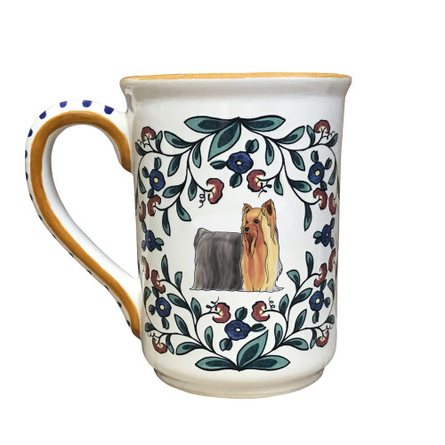 Handmade Yorkshire Terrier (with show-coat) mug from shepherds-grove.com