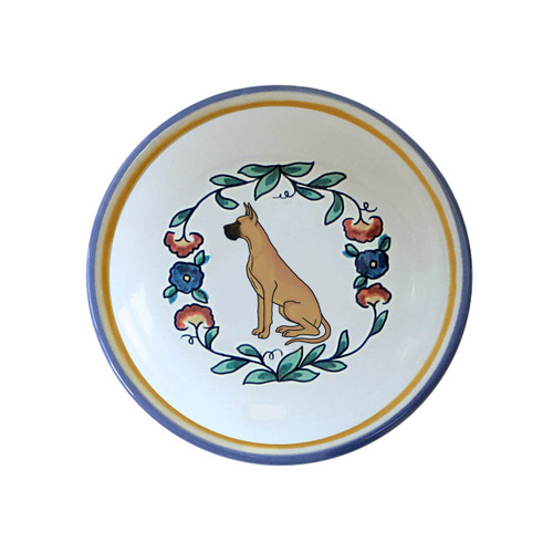 Fawn Great Dane ring dish / dipping bowl from shepherds-grove.com