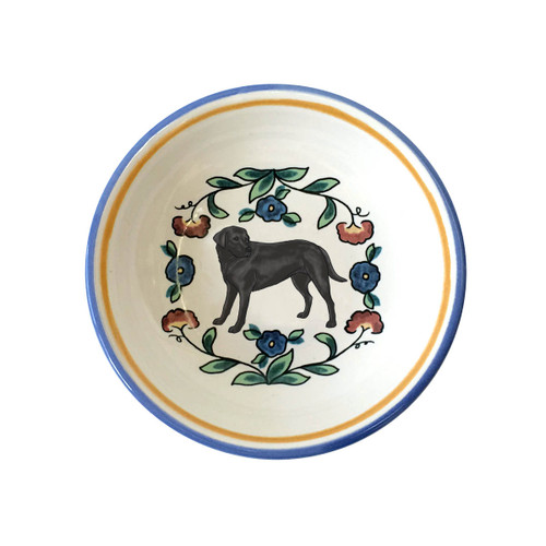 Black Lab ring dish /dipping bowl from shepherds-grove.