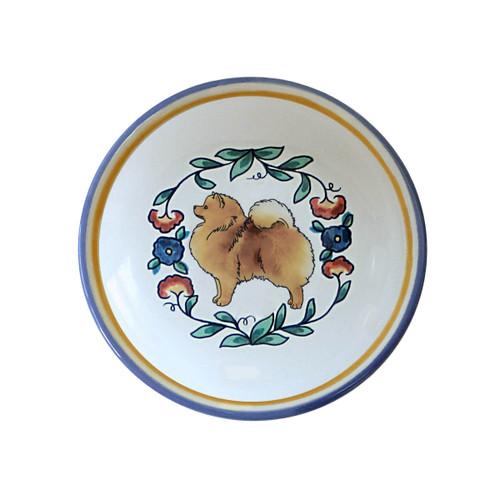 Orange Pomeranian ring dish / dipping bowl from shepherds-grove.com