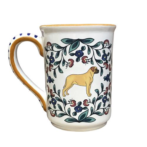 Mastiff mug - handmade shepherds-grove.com