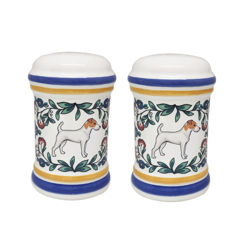 Jack Russell Terrier Salt and Pepper Shakers
