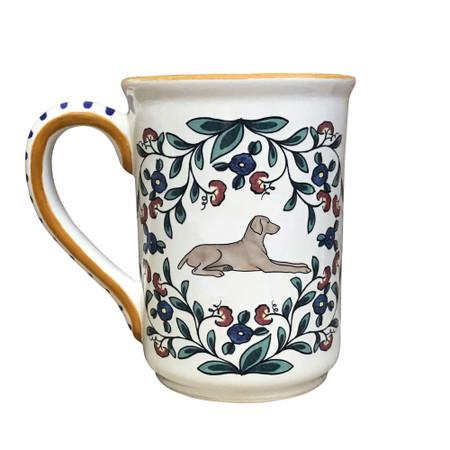 Handmade Weimaraner Mug from shepherds-grove.com