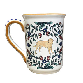 Handmade Yellow Lab Mug from shepherds-grove.com